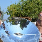 A solar oven is now also used by Reef Doctor