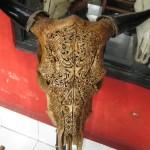 Crâne sculpté