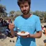 Émincé de zébu, patates douces et riz cuisinés au soleil
